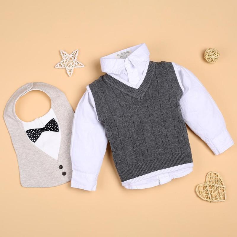 Gentleman Grey knitt...