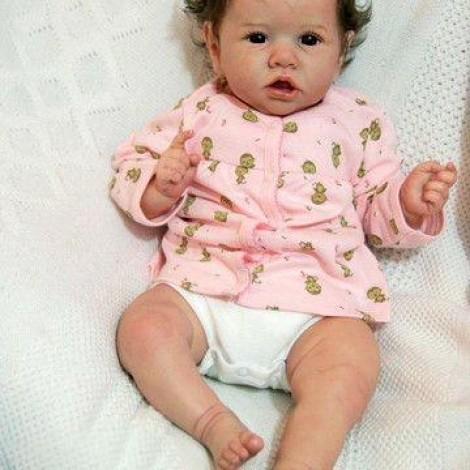 22'' oscar Truly Reborn Baby Doll Girl