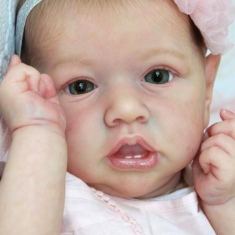 22'' carole Truly Reborn Baby Doll Girl