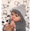 22'' Reborn Baby Doll Daniel,Realistic Soft Newborn Dolls,Best Birthday Set