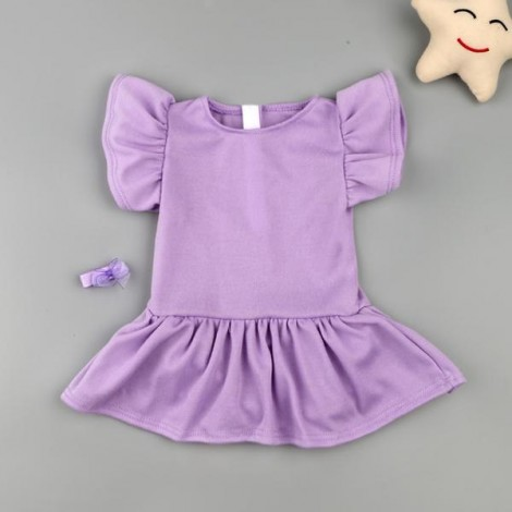 "Reborn Dolls Baby Clothes  for 20""- 22"" Reborn Doll Girl Baby Clothing sets"