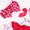 """Reborn Dolls Baby Clothes Red Dress for 20""""- 22"""" Reborn Doll Girl Baby Clothing sets"""