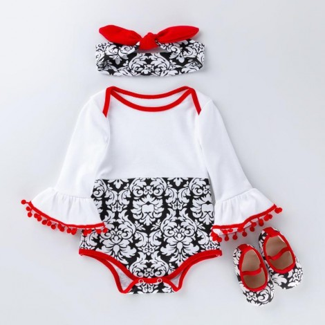 "20""- 22"" Reborn Doll Girl Baby Clothing sets  National style"