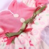 "20""- 22"" Reborn Doll Girl Baby Small floral Clothing sets"