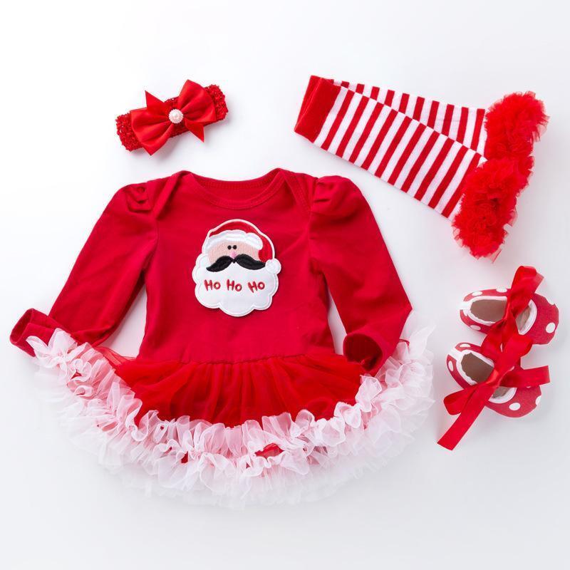 4 Pcs Santa Claus Dr...