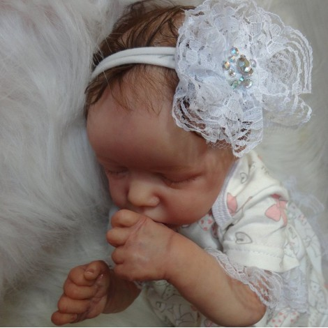 17'' SoftTouch Madilyn Reborn Baby Doll Girl