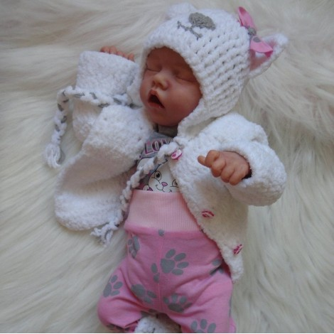 17'' SoftTouch Paris Reborn Baby Doll Girl
