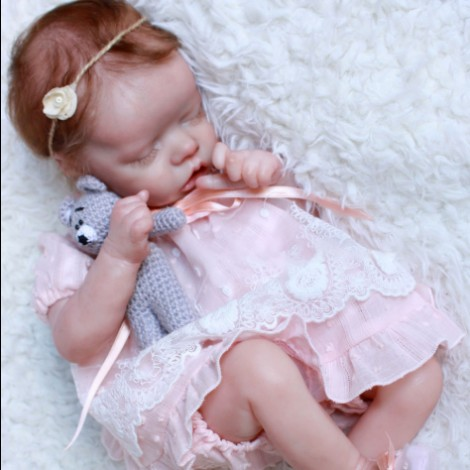 17'' Soft Touch Lifelike Realistic Evie Reborn Baby Doll Girl