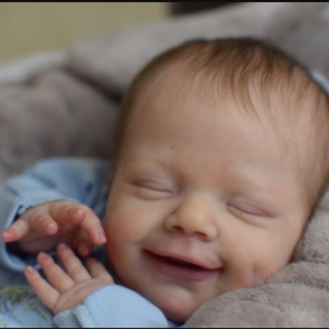 20'' Truly Lovely Lincoln Reborn Baby Doll Boy - So Truly Lifelike Baby