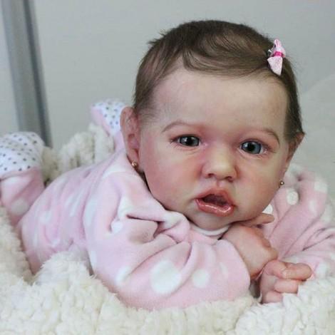 22'' Fiona Realistic Reborn Baby Girl