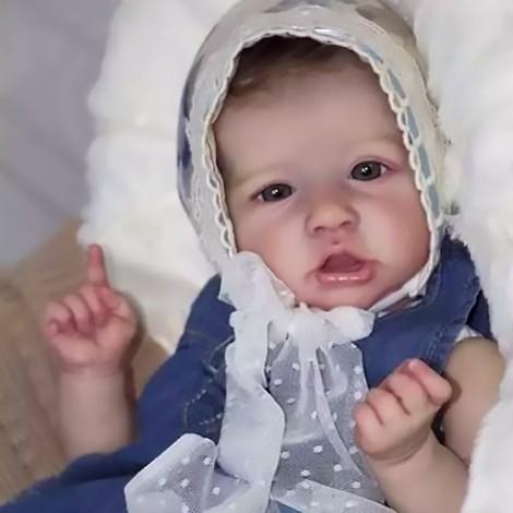 22'' Kids Reborn Lover Alyssa Reborn Baby Doll Girl