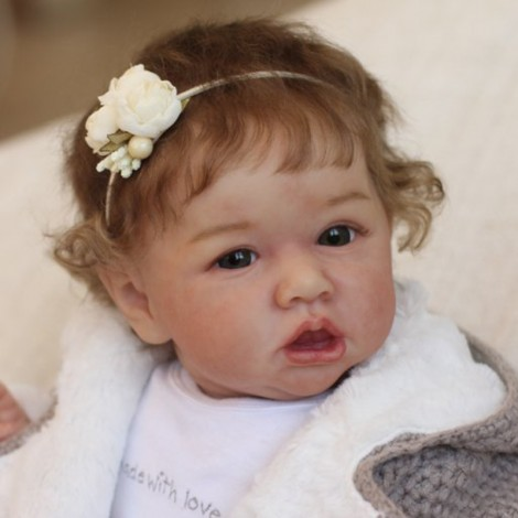 22'' Handmade Reborns  Willow Reborn Baby Doll Toy