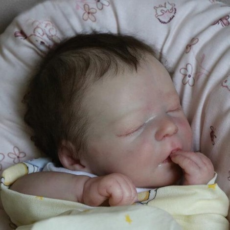 Lifelike 17.5'' Jazmin Reborn Baby Doll Boy