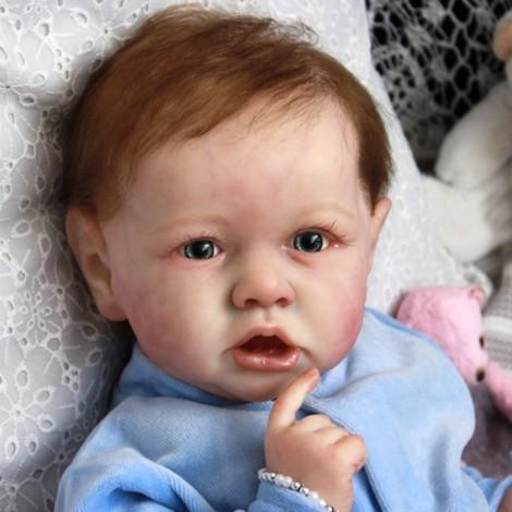 22'' Handmade Reborns  Albert Reborn Baby Doll Boy Toy