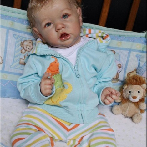 22''  Lifelike Newborn Hawn Reborn  Baby Doll Boy