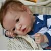 22'' Kids Reborn Lover Rosalie Reborn Baby Doll Boy
