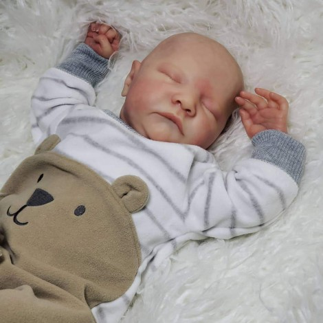20 ''  Lifelike Kids Play Gift   Irelan Handmade Reborn Baby Boy