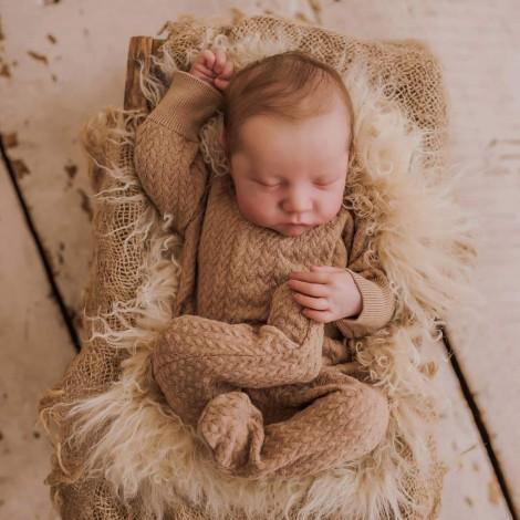 20 '' Real Lifelike Charles Sleeping Reborn Baby Boy Dolls