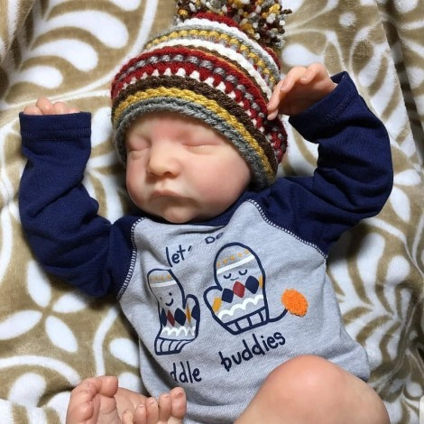 20 ''  Realistic Kids Play Gift Dacia Handmade Reborn Baby Boy
