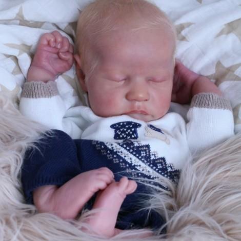 20 '' Real Lifelike Manon Reborn Baby Doll Boy