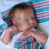 20 ''  Adorable Sabine Sleeping Silicone Reborn Baby Boy Dolls
