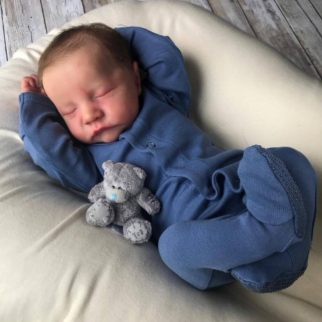 20 '' Preemie Vintas Reborn Baby Boy Dolls