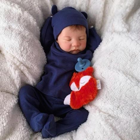 20 '' Real Lifelike Pierce Reborn Baby Boy
