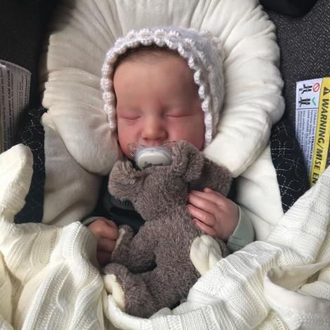 20 '' Newborn Sleeping Nidya Reborn Baby Boy Dolls