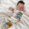 20'' Realistic Reborn April Baby Doll Boy  Named David, Handmade Gift for Kids