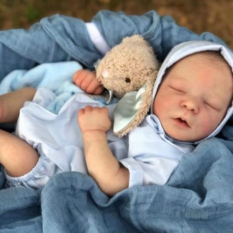 Lifelike 17.5'' Cecelia Reborn Baby Doll Boy