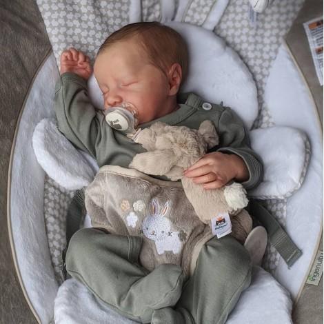 20 '' Real Lifelike Nateka Reborn Baby Boy Dolls