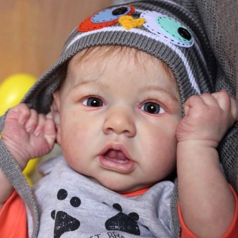 22'' Kids Reborn Lover  Edwin  Reborn Baby Doll Boy Toy