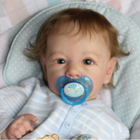 "22"" Johnson Truly Reborn Baby Doll Boy, Gift"