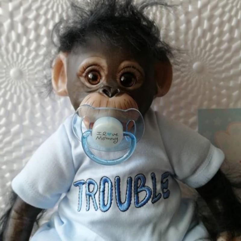 Lifelike Baby Monkey...