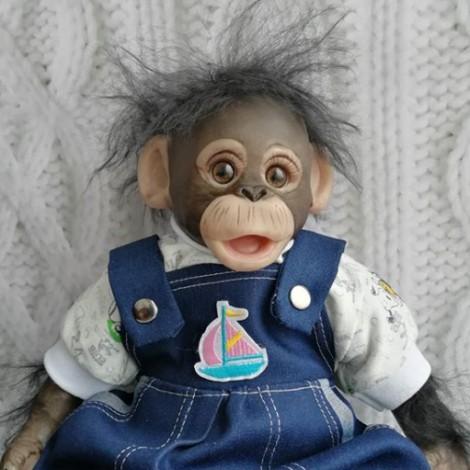 Realistic  Baby Monkey Reborn Doll Named Shahnia