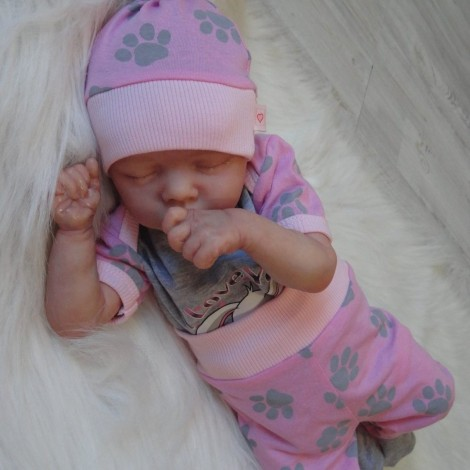 17'' SoftTouch Zsuzsa Reborn Baby Doll Girl