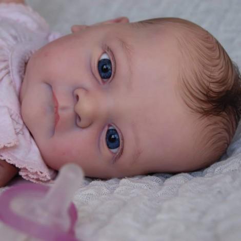 18'' Isleta Realistic Reborn Baby Girl Doll