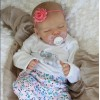 [Christmas Gifts]17'' Real Lifelike Journey Reborn Baby Doll Girl with Coos and ''Heartbeat''