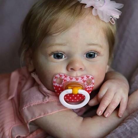 18'' Aadam Realistic Reborn Baby Girl Doll
