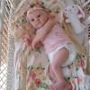 18'' Aadilah Realistic Reborn Baby Girl Doll