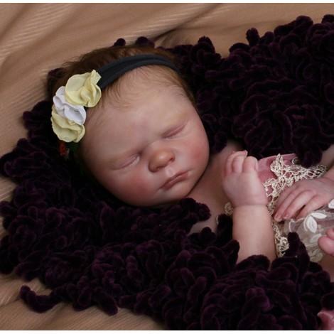 "19.5""  Emma Realistic Reborn Baby Girl"