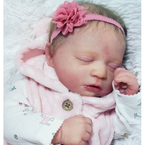"""17"""" Lacy Realistic Reborn Baby Girl"""