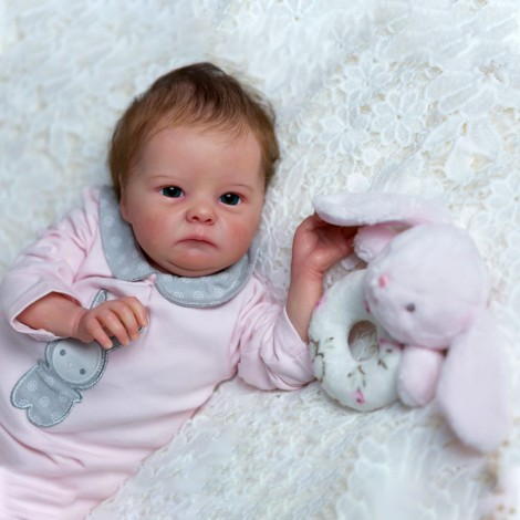 """18"""" Potter Realistic Reborn Baby Girl Doll"""