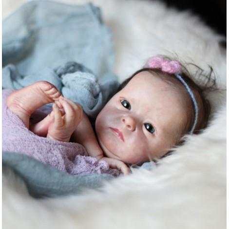 "18"" Wall Realistic Reborn Baby Girl"