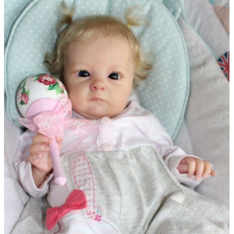 """18"""" Lacy Realistic Reborn Baby Girl"""