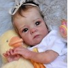 "18"" Messye Realistic Reborn Baby Girl Doll"