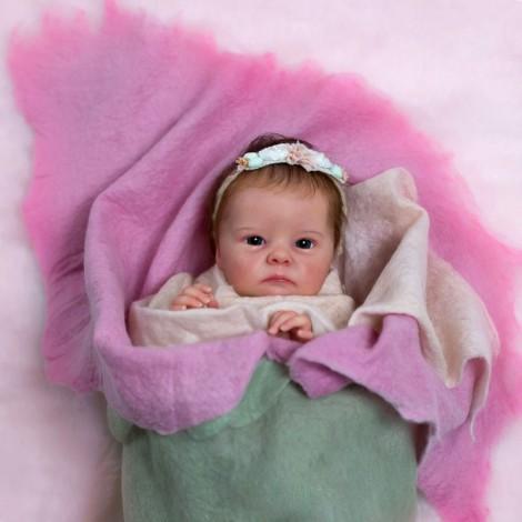 "18"" Doyle Realistic Reborn Baby Girl Doll"
