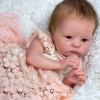 "18"" Robey Realistic Reborn Baby Girl Doll"